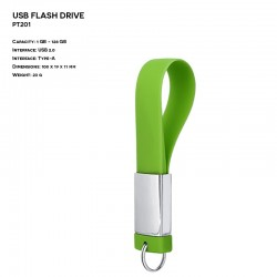 Metal ER SLIM TWIST TTS345 Pendrive (P.TTS345)