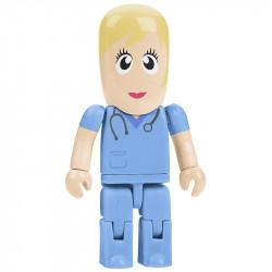 Pielęgniarka pamięć USB ludzik.