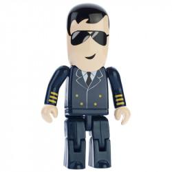 Pamięć USB ludzik pilot samolotu.