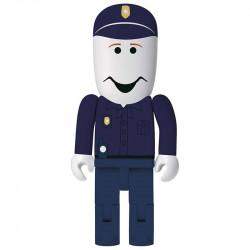 Pendrive w kształcie policjanta.