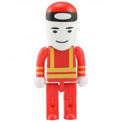 Pamięć USB w kształcie robotnika.
