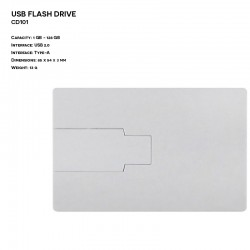 Pendrive ER CLASSIC CC335 Metalowy (P.CC335)