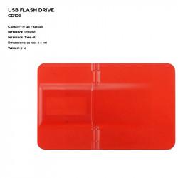 Pendrive ER KARTA CD103 Plastikowy