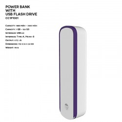 Power Bank z Pamięcią Flash...