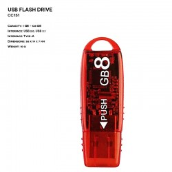 Pendrive ER KARTA CD005A Plastikowy (P.CD005A)