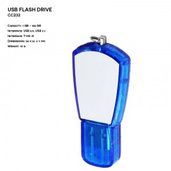Pendrive ER CLASSIC CC232 Plastikowo - Metalowy