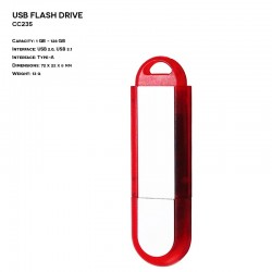 Pendrive ER KARTA CD301 Metalowy (P.CD301)