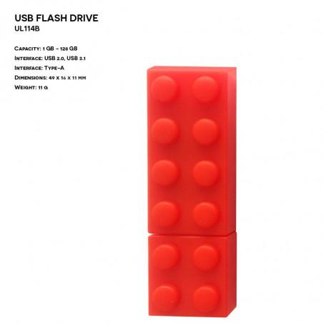 Pendrive ER KOSTKA UL025 Plastikowy (P.UL025)