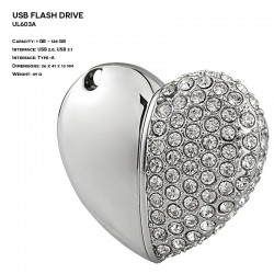 Jewelry ER HEART UL603A...