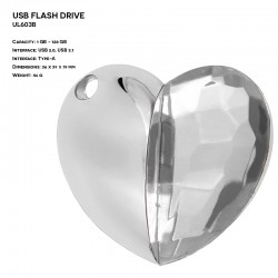 Jewelry ER HEART UL603B...