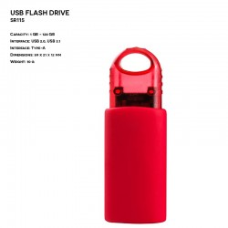 Plastic ER SLIDER SR115 Pendrive