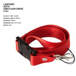 Textile ER LANYARD PT801...