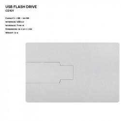 Plastic ER CARD CD101 Pendrive